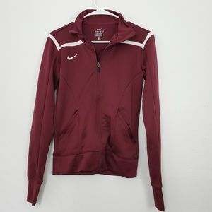 Nike Dri Fit Full Zip Up Sweater